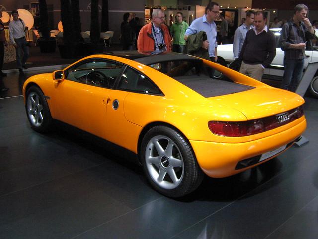 Audi Quattro Spyder (A85)