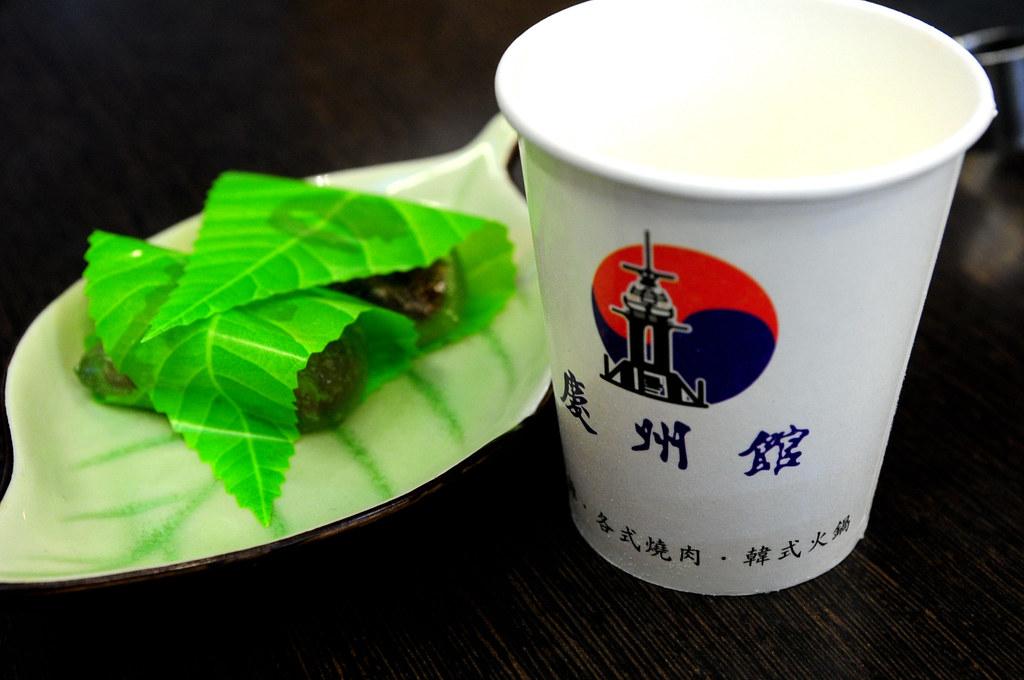 慶州館-甜點與松子茶