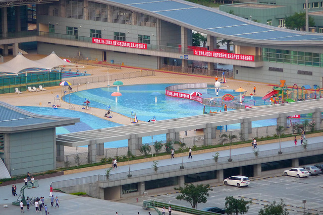 Shenzhen bao'an Ti Yu Guan sports cernter swimming pool