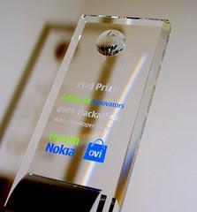 PavingWays wins 2nd runner up at Nokia Hackathon