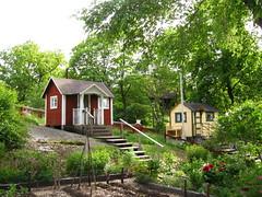 Stockholm, Skansen, Allotment garden models