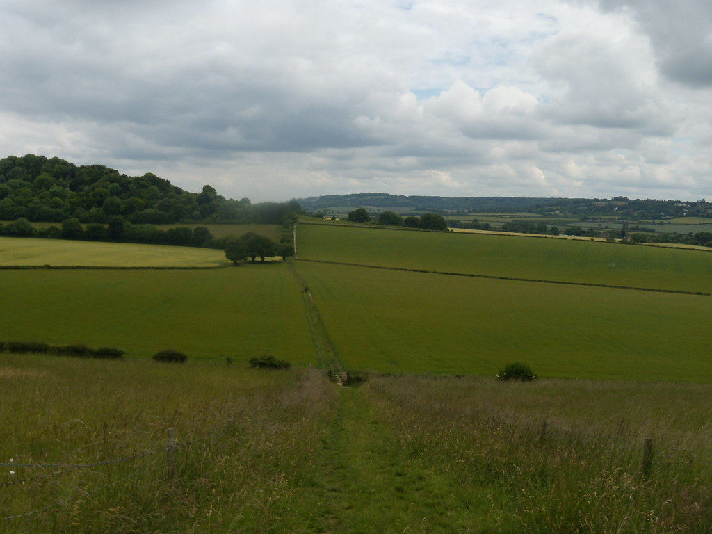 view Saunderton Figure of 8. Bledlow loop