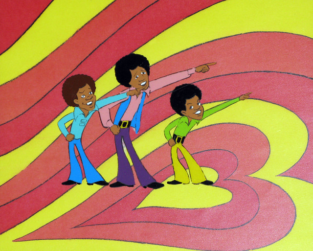 J5 Cartoon Animation Cel