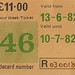 Lothian Region Transport Ridacard 1982