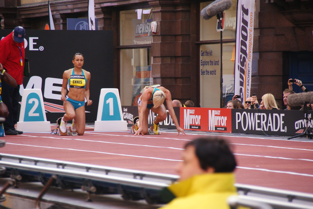 Ennis-Hill at her last Great CityGames in 2013. Photo: Stuart Grout via Flickr
