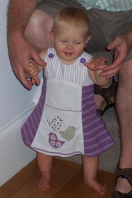 tea towel tea party sundress
