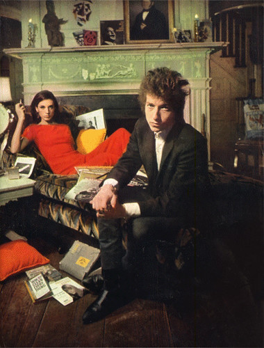 Bob Dylan and Sally Grossman