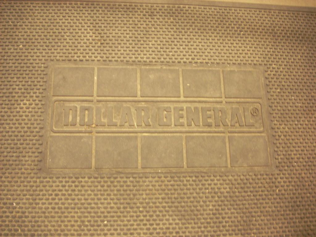 Dollar General doormat