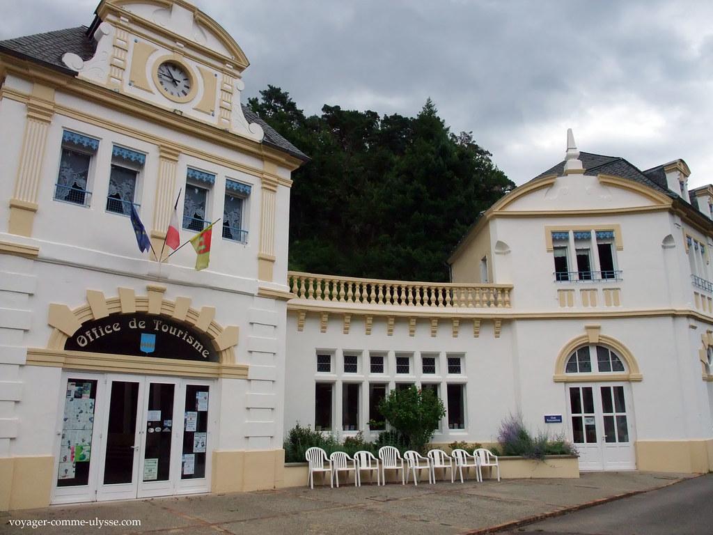 Ville de saint nectaire auvergne voyager comme ulysse - Office du tourisme st mandrier ...