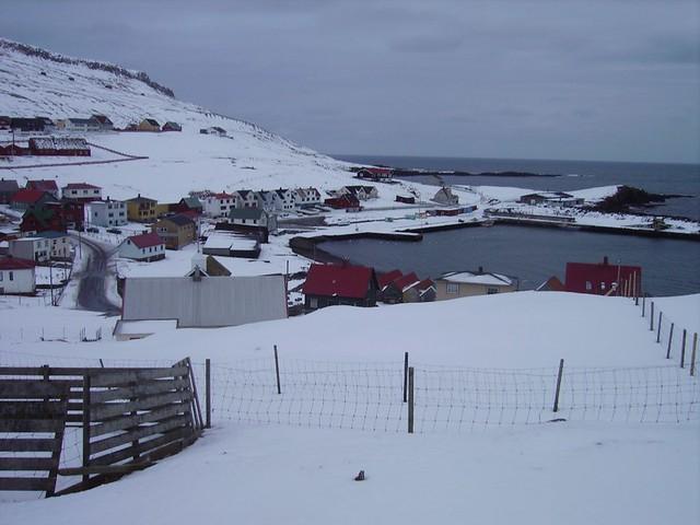 Porkeri - a Village in Suðuroy