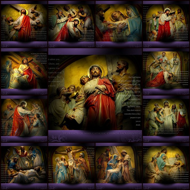 photo regarding Stations of the Cross Prayers Printable identify Station of the cross prayer tagalog model pdf
