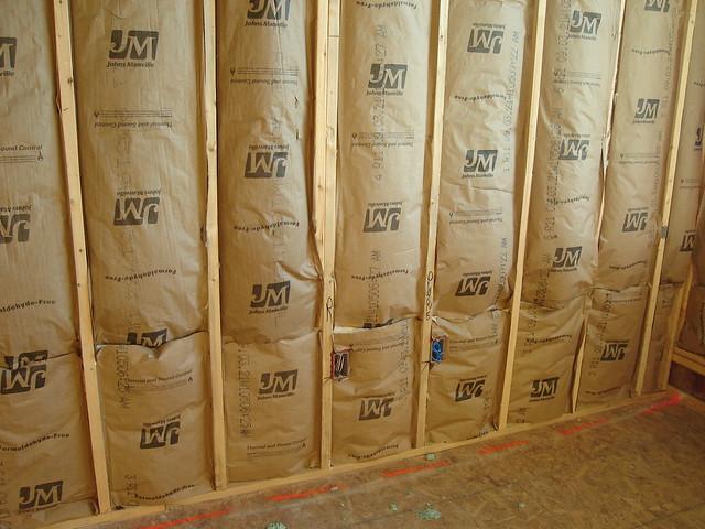 Stud Wall Insulation : Stud wall insulation between units mangum flickr