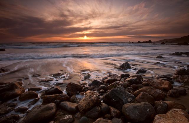 Dillon Beach Sunset with Steve 061