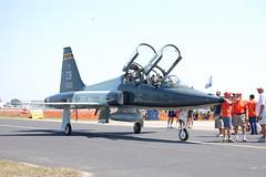 mcdonnell douglas f-15 eagle(0.0), grumman f8f bearcat(0.0), northrop f-5(0.0), aviation(1.0), airplane(1.0), vehicle(1.0), fighter aircraft(1.0), northrop t-38 talon(1.0), jet aircraft(1.0), air force(1.0),