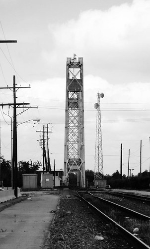 park county railroad bridge b blackandwhite bw white black train river blackwhite moving texas lift steel w railway drawbridge locomotive jefferson riverfront through draw structural beaumont movable neches truss pontist