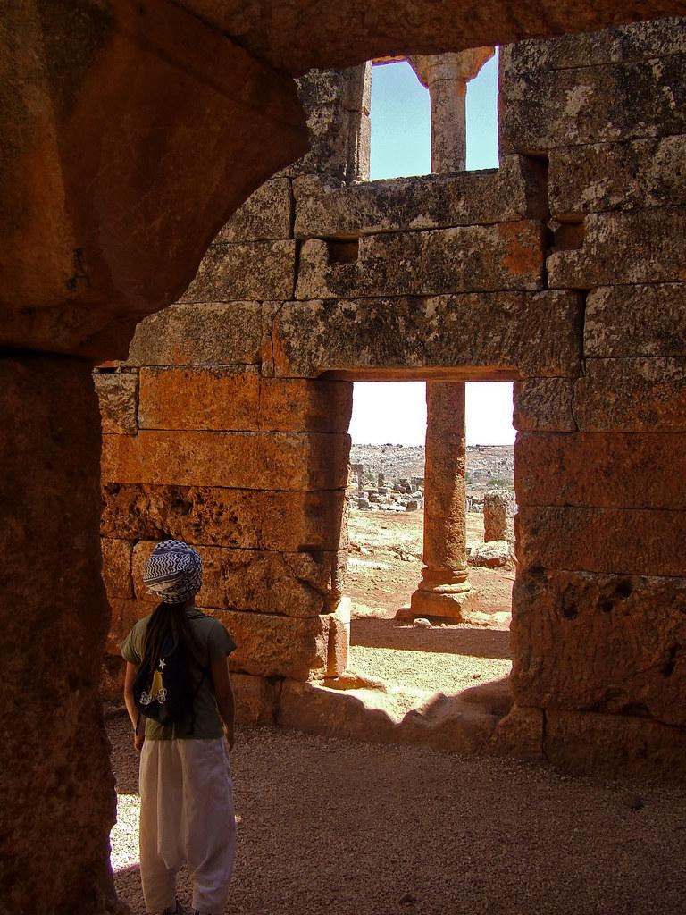 Las aldeas antiguas del norte de Siria. Las ruinas de Serjilla.