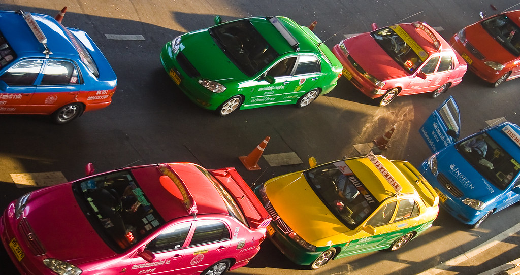 Racing Taxis