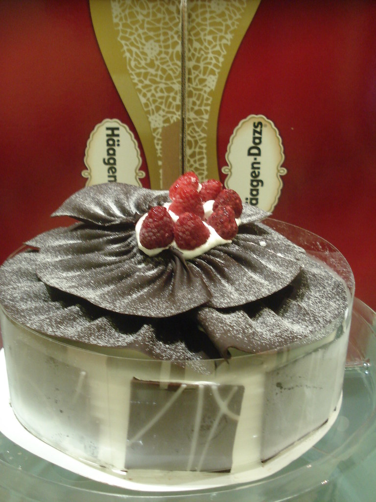 Stupendous Haagen Dazs Ice Cream Cake My Birthday Cake Blue1Anthony Flickr Personalised Birthday Cards Akebfashionlily Jamesorg