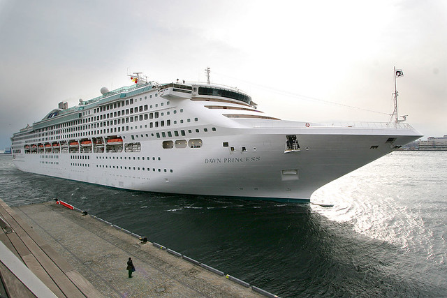 On Board The Princess Cruises