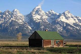 Fixer-upper with a view of the Grand Tetons