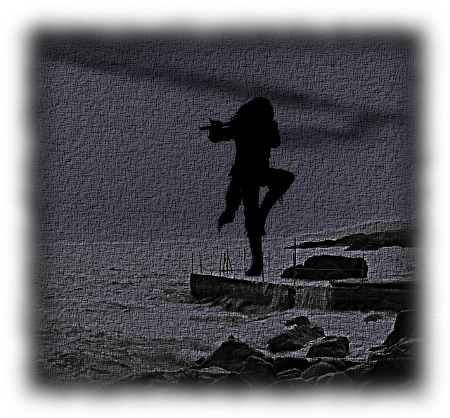 Dream On The Beach Listening To Jethro Tull Logo Dei