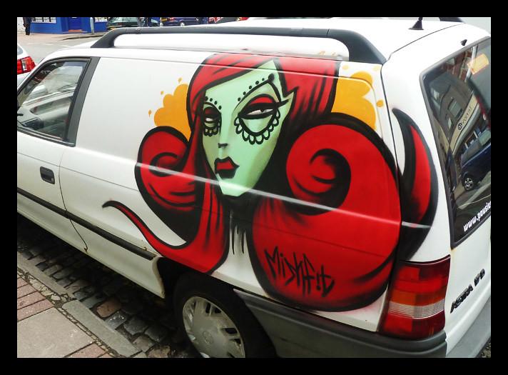 Upfest2011: Mishfit Redhed