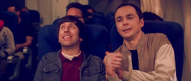 Howard y Sheldon son amigos