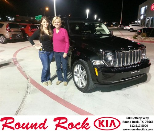 Thank you to Stephanie Tschirhart on your new 2012 #Jeep #Liberty from Rudy Armendariz and everyone at Round Rock Kia! #NewCar! by RoundRockKia