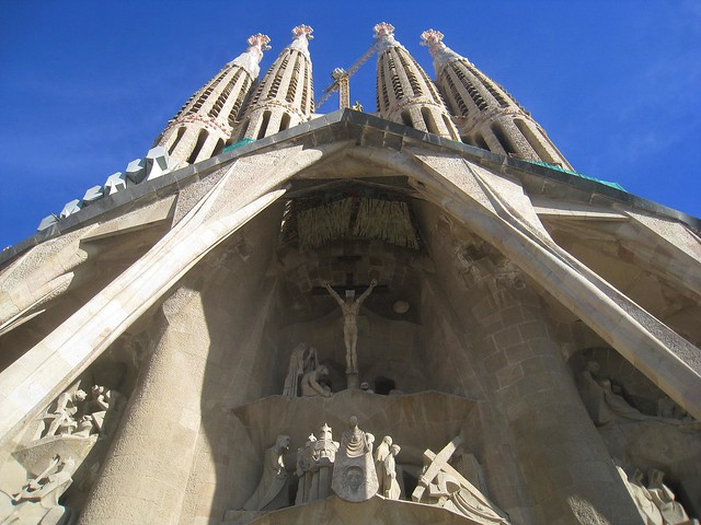 La Sagrada Familia (photo: David Lee)