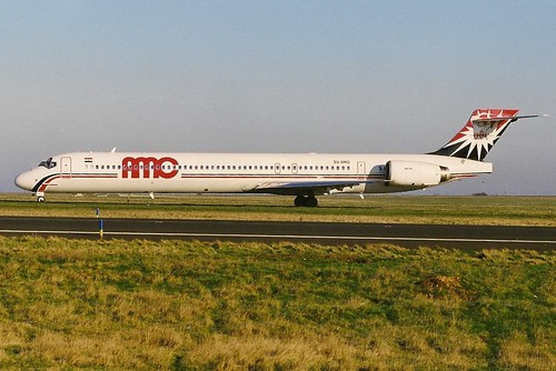 AMC Airlines MD90-30 SU-BMQ