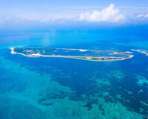 美麗又神祕的東沙島。海洋國家公園管理處提供。
