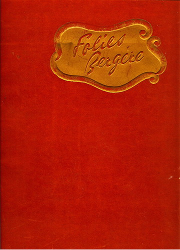 Cover of Folies Bergere Souvenir (1947)