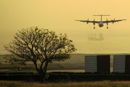 sunrise canon barcos venezuela ships flight amanecer dash planes airports aeroplanes aviones vuelo aeropuertos maiquetía franmarchena
