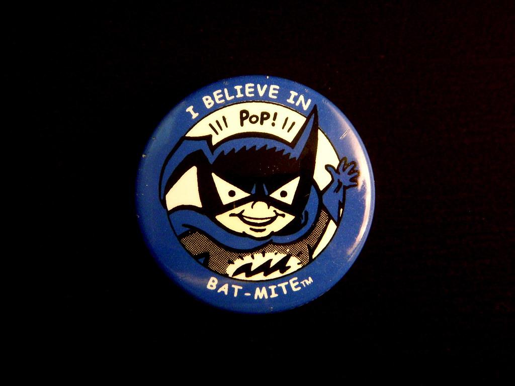 2000 I Believe In Bat-Mite Pin