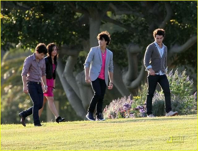 Nick Jonas Demi Lovato Joe Jonas and Kevin Jonas | Flickr ...