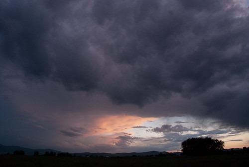 sunset clouds utah purple smithfield strom