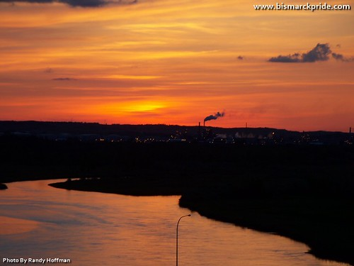 sunset river north picture missouri bismarck dakota mandan