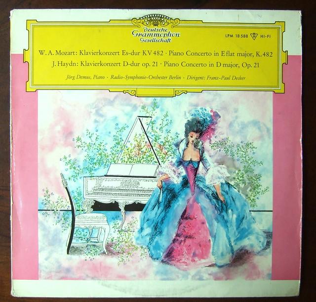 Mozart Piano Concerto Kv482 Haydn Piano Concerto Op