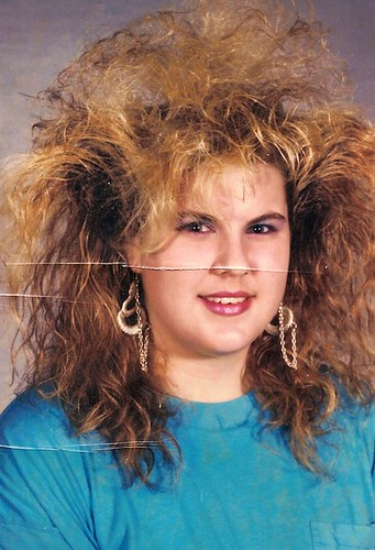 Bad 80s Hair in 1989
