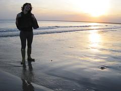 Molly At Sunset