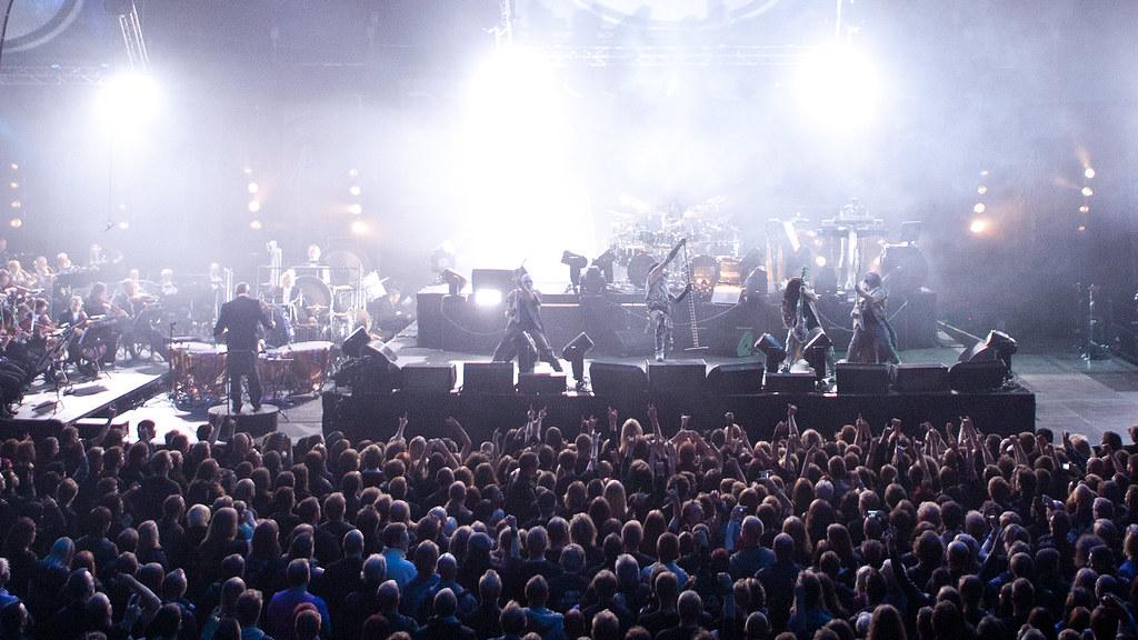 Dimmu Borgir og Kork i Oslo Spektrum