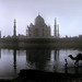 1710 The Taj Mahal as seen from the banks of  the Yamuna River--Agra , India by ngchongkin