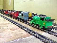 """""""These dont look like Thomas,s friends!"""