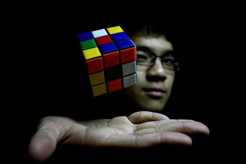 13/365: you're like a rubik's cube