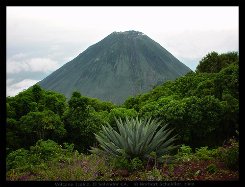 Volcano Izalco