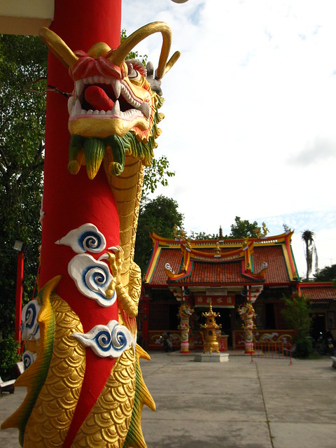 Phuket Town Chinese Temple by CC user jessicarabbit on Flickr