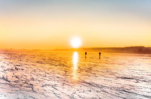münchen munich muenchen munchen lake lago see pilsensee andechs sunset sonne untergang sonnenunterhang frozen freeze gefroren germany natur nature seefeld abigfave citrit hdr geotagged landscape canon