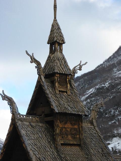 Stavkirke de Borgund, Noruega.