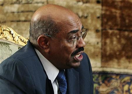 Sudan President Omar Hassan al-Bashir in an interview on February 22, 2009. The African leader has dismissed the threats against him by the International Criminal Court (ICC) by Pan-African News Wire File Photos