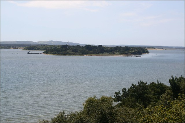 Green Island from Brownsea Island